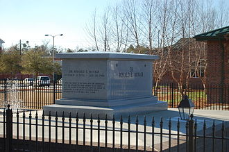 Ronald McNair - Dr. Ronald E. McNair tomb in his hometown, Lake City, South Carolina