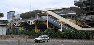 Medan Tuanku Monorail station - Image: Medan Tuanku station (Kuala Lumpur Monorail) (exterior), Kuala Lumpur