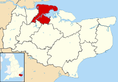 Medway UK locator map.svg
