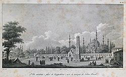 Meidan, Constantinople - Andreossy Antoine-françois Comte - 1828.jpg