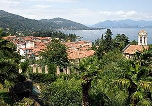 Meina - Meina and Lake Maggiore.