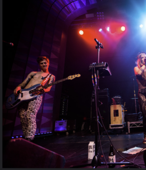 Ken Christianson - Image: Menstruators Regent Theater 08 7 2015