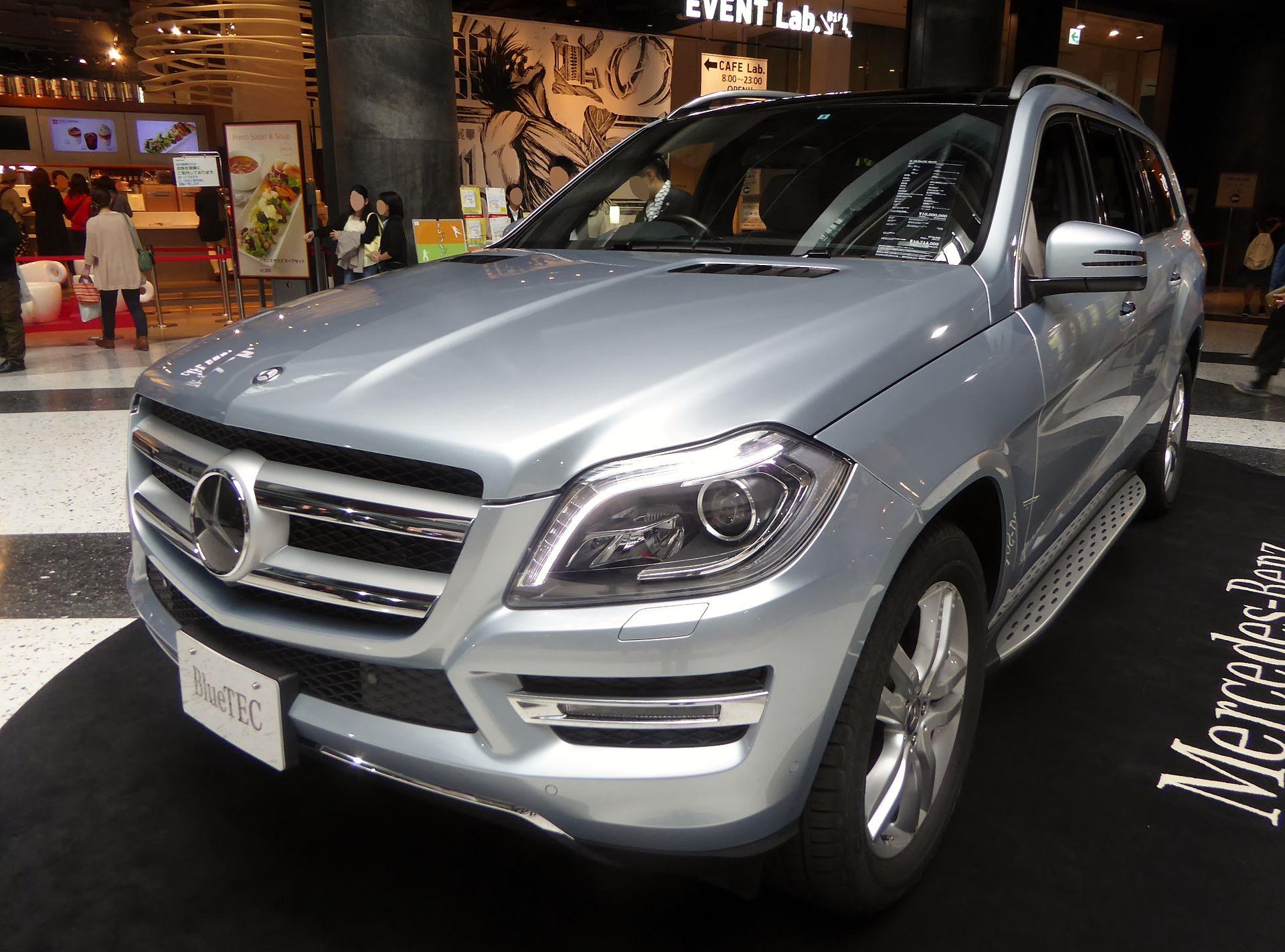 Mercedes Benz Gl класс Википедия