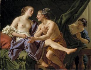 Mercury, Herse and Aglaura