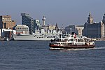 File:Mersey Ferry Royal Iris and HMS Illustrious, River Mersey (geograph 3786310).jpg