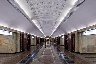 Baumanskaya (Moscow Metro) - Image: Metro MSK Line 3 Baumanskaya