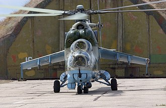 2001 insurgency in the Republic of Macedonia - Mi-24 helicopters were used by the Macedonian Army.