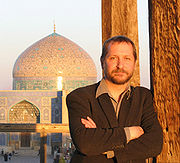 Michael Everson in Isfahan.