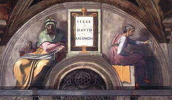 Michelangelo david solomon
