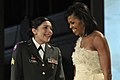 Michelle Obama & Margaret Herrera at CinC's Ball 1-20-09 hires 090120-F-9059M-1040a.jpg