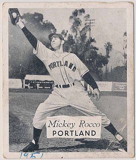 Mickey Rocco American baseball player