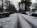 Mid section of a snowy Wade Court Road - geograph.org.uk - 1672089.jpg