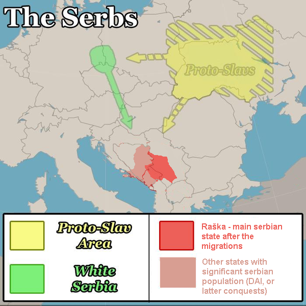 Migration of Serbs