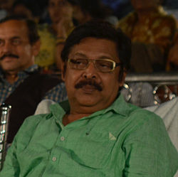 Mihir Das during 25th Odisha State Film Awards in Bhubaneswar.