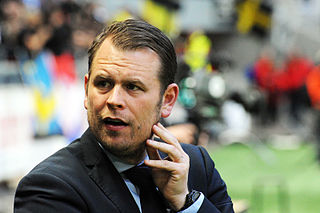 Mikael Stahre Swedish footballer and manager