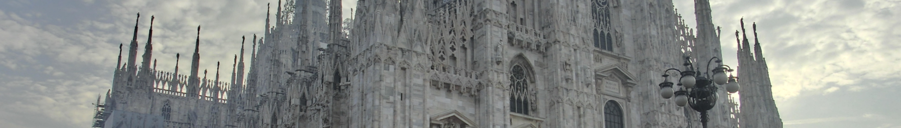 The Duomo (cathedral), perhaps the most recognizable landmark of Milan