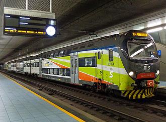 Milan suburban railway service - Image: Milano staz Porta Venezia TSR linea S6