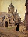Milly Childers - The Church, Veules-les-Roses, Normandy, France, 1902.jpg