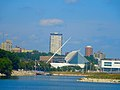 Milwaukee Art Museum ^ The BreakWater Skyscraper - panoramio.jpg
