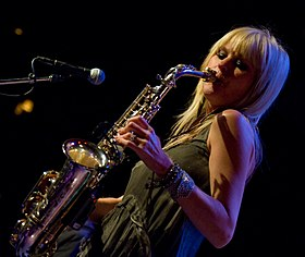 Mindi Abair - Jazz Alley - Seattle - 2011.jpg