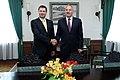 Ministru prezidenta Valda Dombrovska tikšanās ar Valsts prezidentu Andri Bērziņu (6265779929).jpg