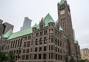 Minneapolis City Council - Image: Minneapolis City Hall (15622665867)