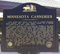 Minnesota canneries historical marker.png
