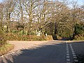 Minor Road Junction north of Threemilestone - geograph.org.uk - 510306.jpg