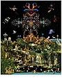 Miroslav Huptych, kalendář Ráj (Paradise) 2. list (2017), počítačová grafika 650 x 490 mm.jpg