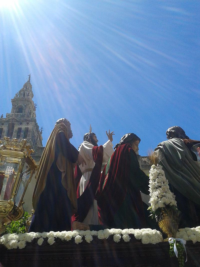 Misterio de la Hermandad de la Cena el día del Corpus Christi de Sevilla.jpg