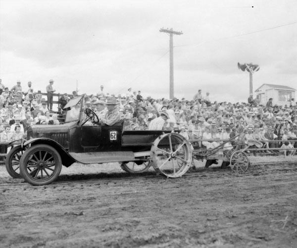 Model T tractor