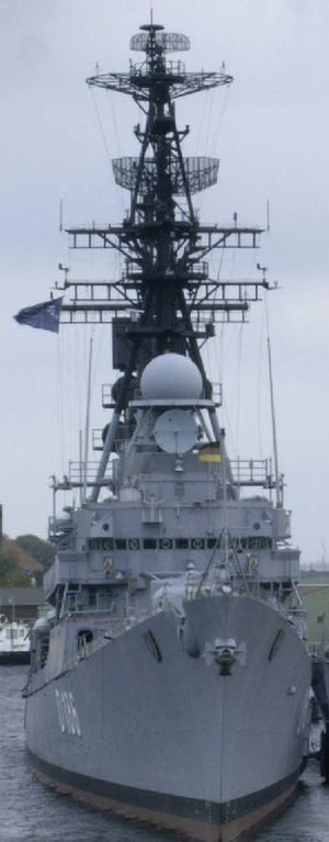 Charles F. Adams-class destroyer - Mölders, a Lütjens-class destroyer as museum ship of the German Navy