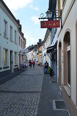 Friedrichstraße in Moers
