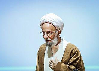 Mohammad-Taqi Mesbah-Yazdi - Mesbah-Yazdi in Principlists Grand Coalition Convention