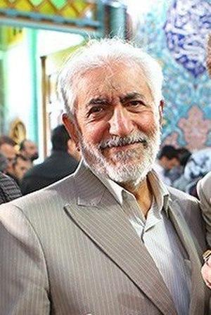 Mohammad Gharazi - Gharazi voting in Hosseiniyeh Ershad, 2016