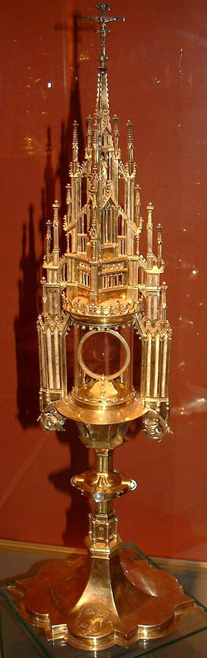 Monstrance - Image: Monstrancja Jagiełły