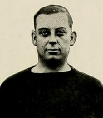 Mont McIntire - Pictured in The Monticola 1920, West Virginia yearbook