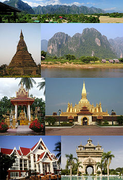 Montage of Vientiane Province,Laos.jpg