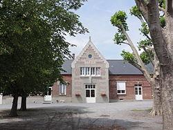 Montigny-en-Arrouaise (Aisne) mairie.JPG