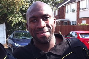 Darren Moore - Moore while at Burton Albion in 2011