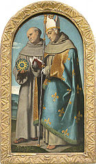 Saint Bernardino of Siena and Saint Louis of Toulouse