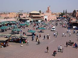 Szaberplac we Marrakeszu