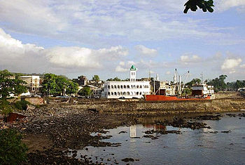 English: Centre of the Capital of the Comoros....