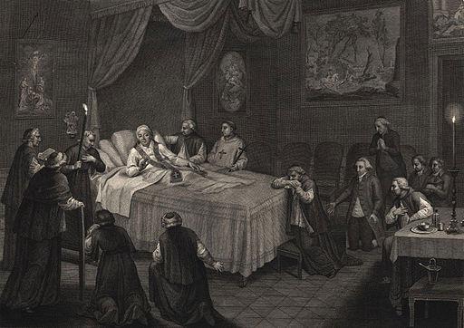 Morte di S. S. Pio VI