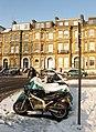 Motorcycle Parking, Eaton Gardens - geograph.org.uk - 1628214.jpg