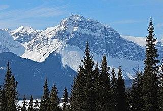 Mount Turner Mountain in Banff NP, Alberta, Canada