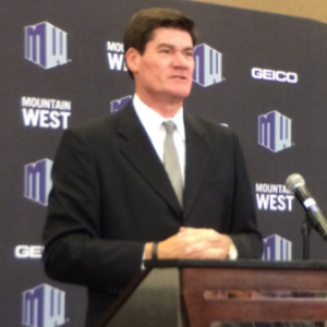 Mountain West Conference - Craig Thompson was hired as the inaugural commissioner of the Mountain West on October 15, 1998, he had been commissioner of the Sun Belt Conference.