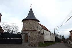 Moxhe boerderij Hobe met verdedigingstoren 17e eeuw - 21-12-2013 16-56-47.jpg