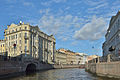Moyka river in Saint Petersburg view NE .jpg
