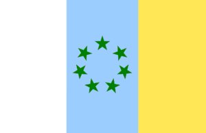 Canarian nationalism - Flag of the MPAIAC